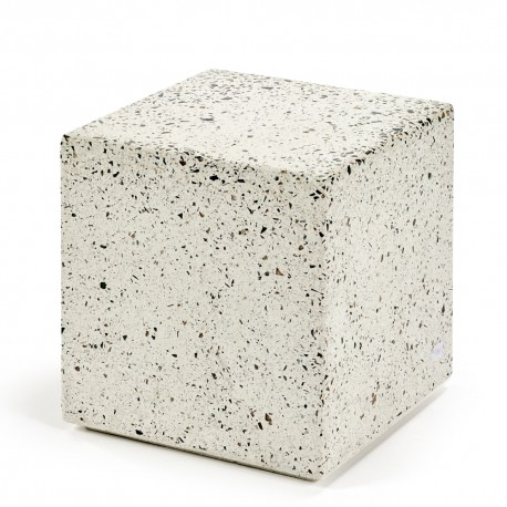Table d'appoint cube Terrazzo 40X40 H40 cm, Serax