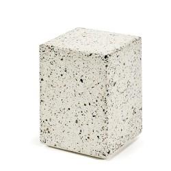 Table d'appoint design cube Terrazzo 30X30 H40 cm, Serax