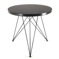 Table Bistrot Terrazzo Noir D80XH77cm Antonino Sciortino, Serax