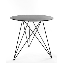 Table Bistrot Sticchite Noir D75XH70cm Antonino Sciortino, Serax