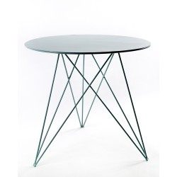 Table Bistrot Sticchite Bleu clair D75XH70cm Antonino Sciortino, Serax