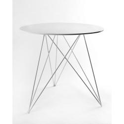 Table Bistrot Sticchite Blanc D75XH70cm Antonino Sciortino, Serax