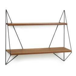 Etagère deco design Butterfly métal et bois L75xP22xH64cm PJ Mares, Serax
