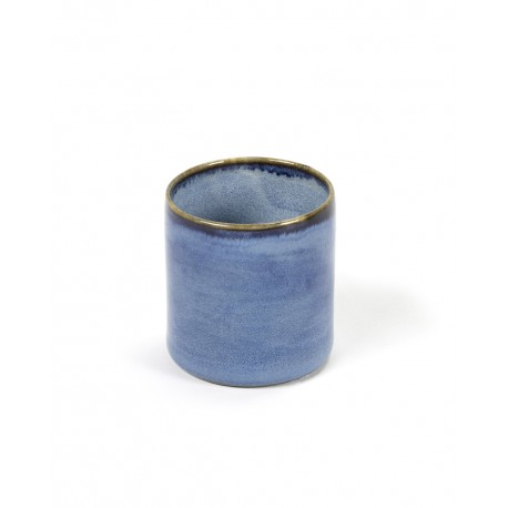 Gobelet XS Terres de Rêves Blue, Serax par Anita Le Grelle