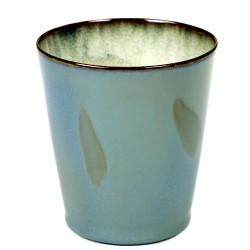 Gobelet conique 34cl Terres de Rêves Smokey blue, Serax par Anita Le Grelle
