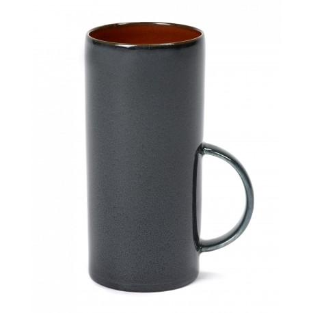 Mug haut 28cl Rust/Dark blue Serax Terres de Rêves par Anita Le Grelle