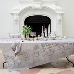 Tissu nappe au metre Veneziano Sfumato en 180cm Garnier-Thiébaut