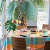 Nappe de table Mille Tingari Austral, Garnier-Thiébaut