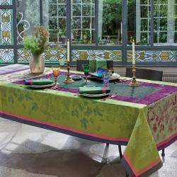Nappe de table anti tache Plaisirs d'automne Muscat, Garnier-Thiébaut