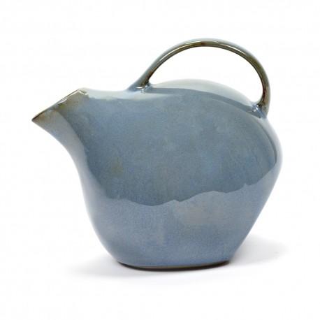 Pichet, carafe L en grès émaillé Terres de Rêves Smokey blue, Anita Le Grelle pour Serax