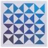 Serviettes de table réversibles Origami Encre, Le Jacquard Français (par 4)