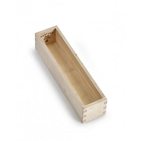 Range couvert, boite a couvert, en bois, des cuillères à café Surface Sergio Herman, Serax
