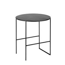 Table d'appoint métal Cico Noir D40 H40.5cm, Antonino Sciortino pour Serax