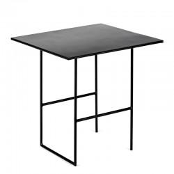 Table d'appoint métal Cico Noir 38x35 H35.5cm, Antonino Sciortino pour Serax