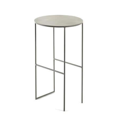 Table d'appoint métal Cico Gris D30 H50cm, Antonino Sciortino pour Serax
