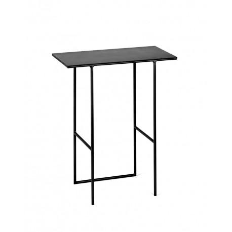 Table d'appoint métal Cico Noir 35x19 H40cm, Antonino Sciortino pour Serax