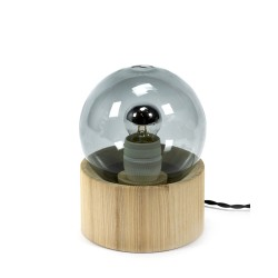 Lampe Full Moon Gris fumé Studio Simple, Serax