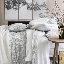 Linge de lit de luxe percale de coton Ermitage, Alexandre Turpault