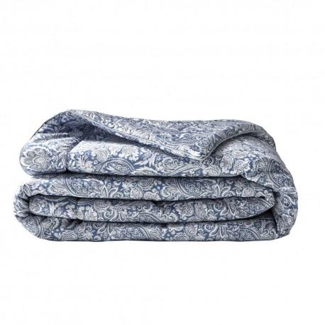 Plaid bout de lit Sauvage Bleu 130x240, Alexandre Turpault