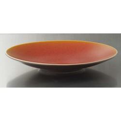 Assiette de présentation Basique orange