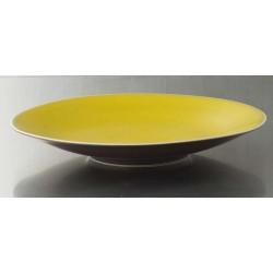 Assiette de présentation Basique citron