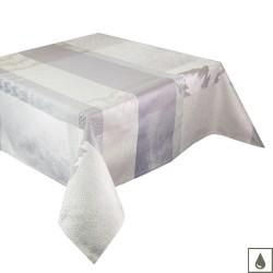 Nappe enduite sur mesure Mille Matières Vapeur, laize 180cm, Garnier-Thiébaut
