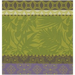 Serviettes de table jardin Bahia Jungle, Le Jacquard Français