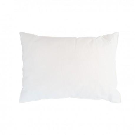 Coussin de garnissage rectangulaire Blanc 30x50cm, Le Jacquard Français