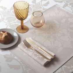 Sets de table enduits Syracuse Dolce, Le Jacquard Français