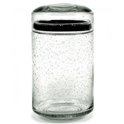 Pot en verre avec couvercle Pure L, Serax par Pascale Naessens