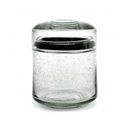 Pot en verre avec couvercle Pure M, Serax par Pascale Naessens