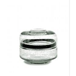 Pot en verre avec couvercle Pure S, Serax par Pascale Naessens
