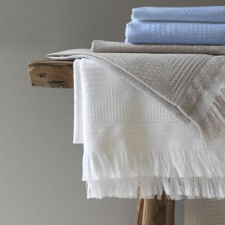 linge de bain haut de gamme serviette de bain luxe nid d 39 abeilles