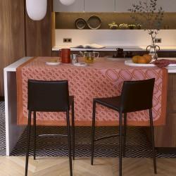 Nappe Twist Pink, Le Jacquard Français