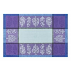 Sets de table anti tache Sari Pavot, Le Jacquard Français