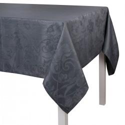 Tissu sur mesure Tivoli Gris Flanelle pur lin laize 180 ou 245cm, Le Jacquard Français