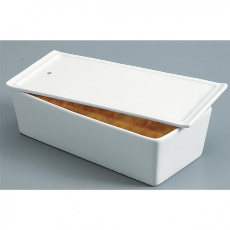 Terrine rectangulaire porcelaine 1000g, Revol