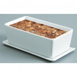 Terrine rectangulaire porcelaine 600g, Revol