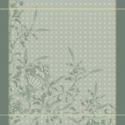 Serviettes de table Persephone Olive, Garnier-Thiébaut