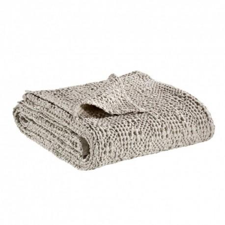Jeté de lit coton stonewashed Tana Lin, Vivaraise