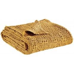 Couvre lit lit haut de gamme coton stonewashed Tana Maïs, Vivaraise