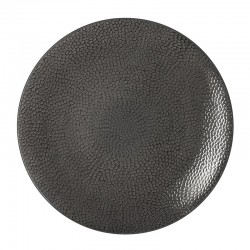 Médard de Noblat - Coffret de 6 assiettes plates 27cm grès Stone Gris