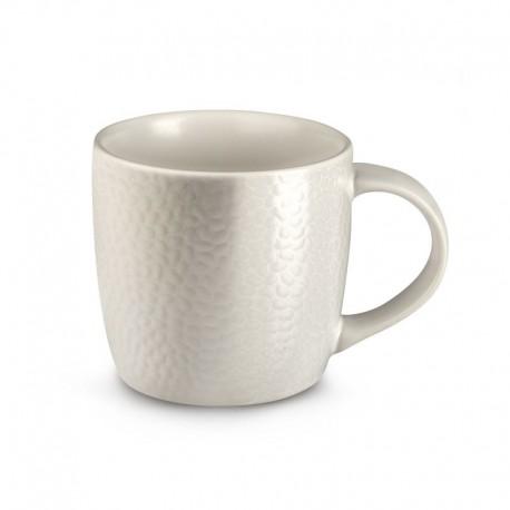 Médard de Noblat Tasse à café ou thé 28cl grès Stone Ivoire