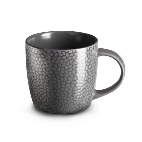 Médard de Noblat Tasse à café ou thé 28cl grès Stone Gris
