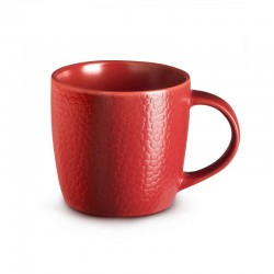 Médard de Noblat Tasse à café ou thé 28cl grès Stone Rouge
