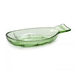Vaisselle en verre Plat poisson Fish & Fish 26x14cm, Paola Navone, Serax