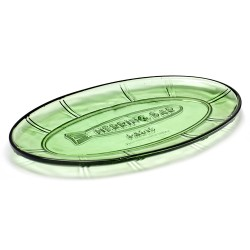 Vaisselle en verre Plat poisson Fish & Fish 31x17cm, Paola Navone, Serax
