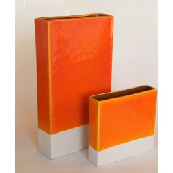 Vase Ipso Orange Jars Céramistes