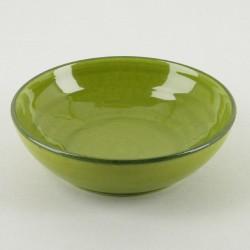 Assiette creuse céramique Collection Sud pomme, Atelier Romain Bernex
