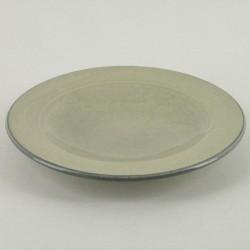 Assiettes originales plates ceramiques Sud perle, Bernex